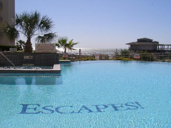 Holiday Inn Club Vacations Galveston Beach Resort: Pool view