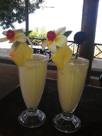 Coconuts Beach Resort: Wonderful Pina Colada