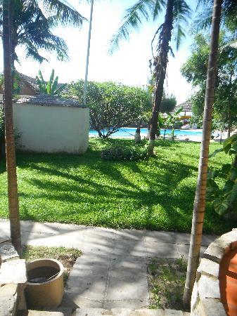Green Coconut Resort: yard