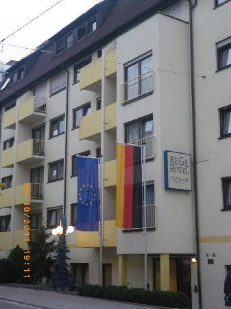 Rega Hotel Stuttgart: Outside