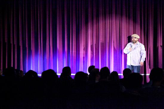 Laugh Inn: Justin Moorhouse on stage
