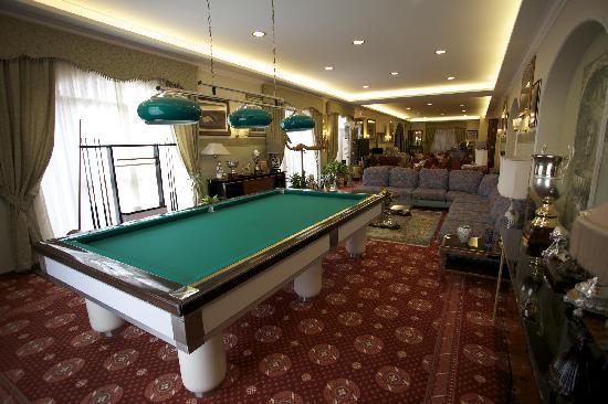 Hotel Parco dei Principi: Biliardo