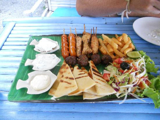 Greek Taverna: Meat Platter for 2