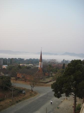 African Sun Amber Hotel Mutare : View from the Room - Dont miss the Mist in the background.