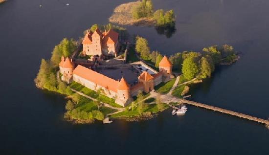 Traku pilis - amazing place in Trakai (not far from Vilnius)