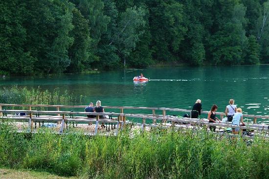 Zalieji ezerai   -beautiful green lakes -east side of Vilnius