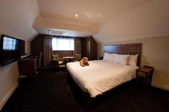 The Dog and Doublet Inn Sandon: Double Room