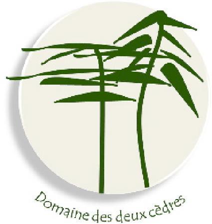 Domaine des Deux Cedres: logo du domaine