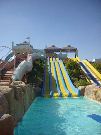 Titanic Resort & Aqua Park: several of the slides