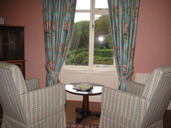 Penmaenuchaf Hall: The view from the bedroom.