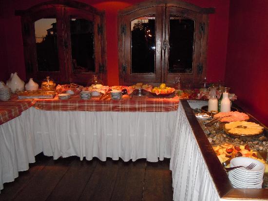 Kau Yatun Hotel & Estancia: Cafe da manhã- caseiro e gostoso