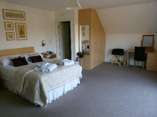 Whitton Lodge: Luxury Suite Double bedroom