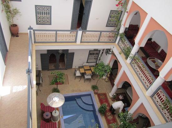 Riad Dar Shana: Lobby