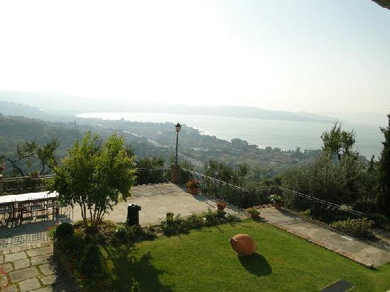 Villa San Crispolto: The View from the villa