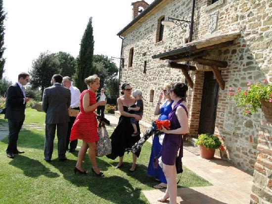 Villa San Crispolto: Getting ready to go to cortona
