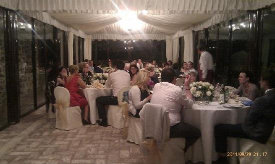 Villa San Crispolto: The Reception
