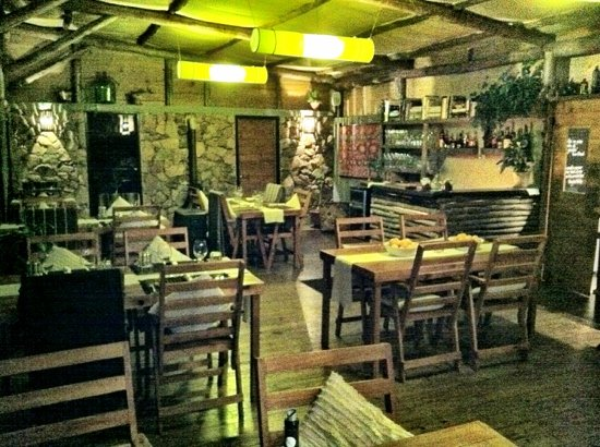 Intimate dining, Al Forno only seats 50 people per night.