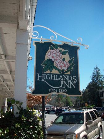 Highlands Inn : Sign