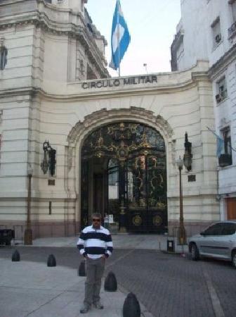 Palacio Paz: Entrada al Palacio