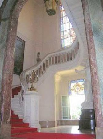 Palacio Paz: Escaleras primer salon