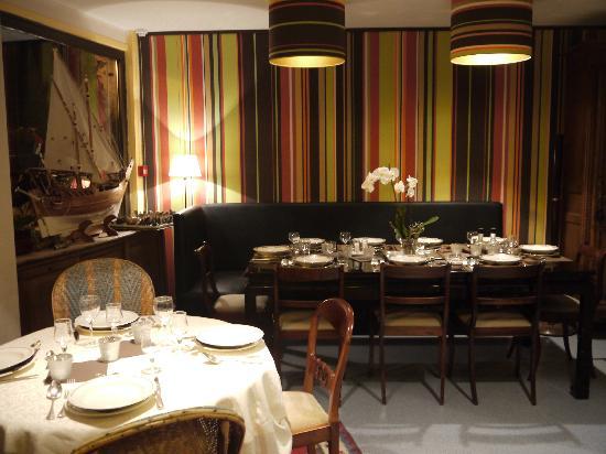 Blonville sur Mer, Francia: La salle de petit déjeuner