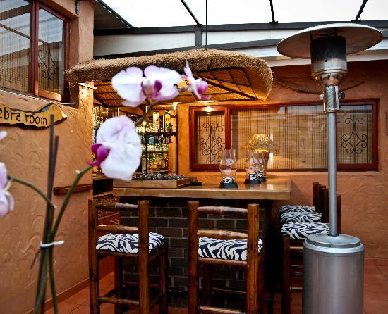 """Like Home B&B or Self Catering: The """"Zebra Room"""" Pub"""