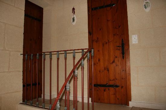 Chateau Galot la Chapelle Saint EMILION: L'entrée