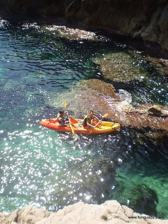 Denia, Spanien: excursion kayak
