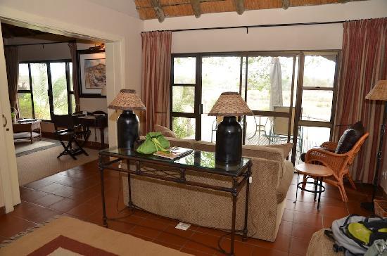 MalaMala Main Camp: Living room.