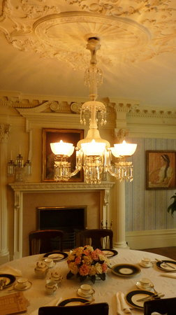 Theodore Roosevelt Inaugural National Historic Site: Dining Room of the Wilcox Mansion