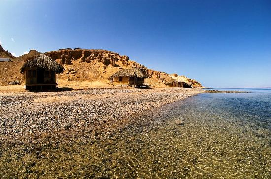 Maagana Camp Nuweiba: Bungalows from outside