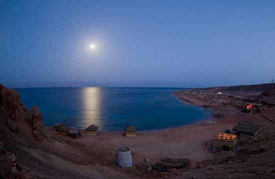 Nuweiba, Ägypten: The camp at night