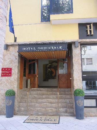Hotel Orientale - those steps!