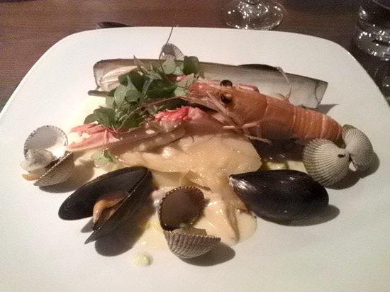 Loch Fyne Bistro: haddock and langoustine chowder