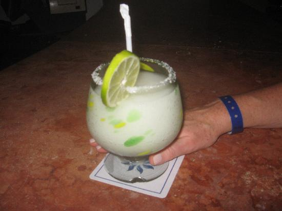 The BEST Margarita I found was at the Mayan Palace Lobby Bar, YUMMY!