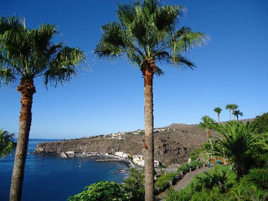 Playa de Santiago, Spania: Blick von der Restaurantterrasse