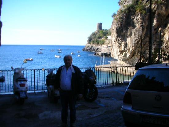 La Conchiglia da Antonio: vista dalla spiaggetta