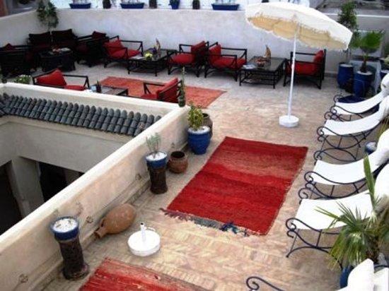 Riad Dubai: Terrasse