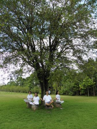 PhuWanalee Resort : Enjoying the wonderful garden