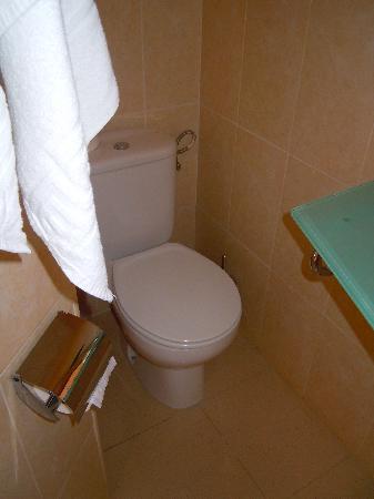 BQ Carmen Playa Hotel: Das WC ist links in der nicht sichtbaren Nische