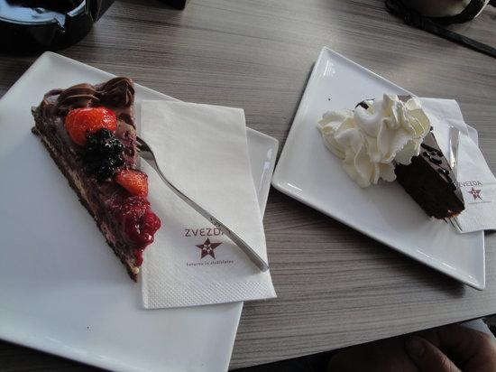 Kavarna Zvezda: Torte