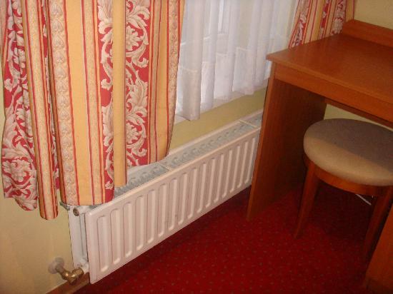 Hans Memling Hotel: Calentadores
