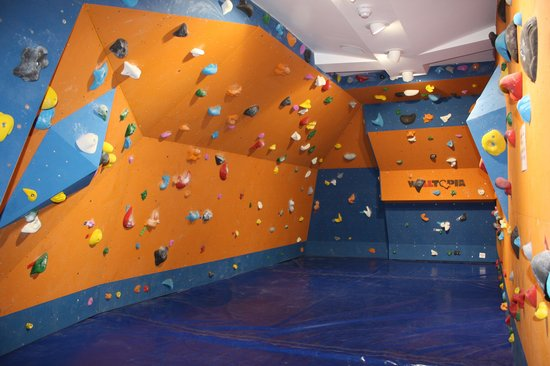 Ambleside Climbing Wall: The Bouldering Room