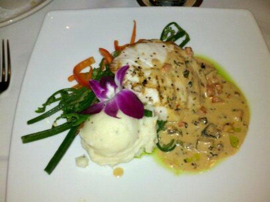 Tommy Bahama's Restaurant & Bar: My dinner :-)