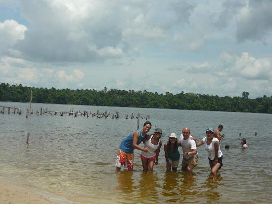 Quistacocha Zoo: Playa en Quistococha