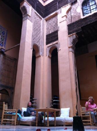 Dar Cherifa: the lunch room