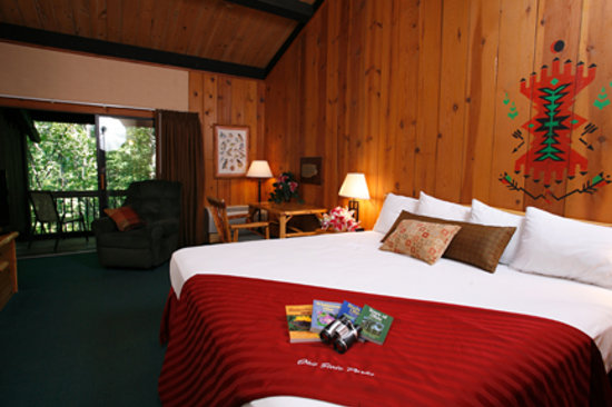 Shawnee Lodge and Conference Center: Shawnee Lodge king guestroom