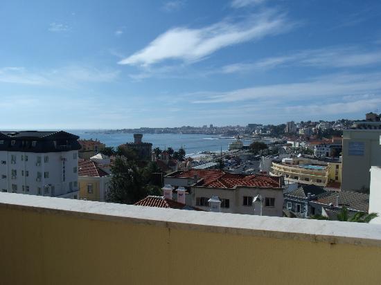 SANA Estoril Hotel: vistas desde la habitacion