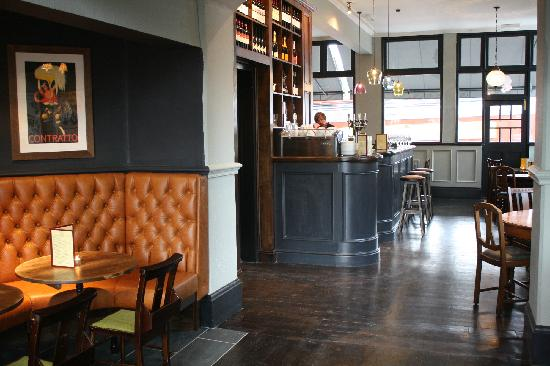 The Old Haberdasher: Reserve a drinks area