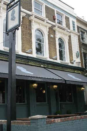 The Old Haberdasher: Front & Back outside drinking areas